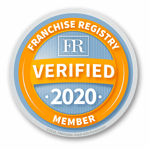 Verified 2020 Member of the Franchise Registry